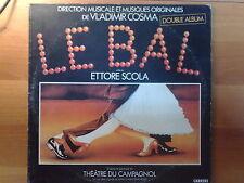DISCO LP 33 GIRI VLADIMIR COSMA LE BAL DOPPIO ALBUM CARRERE 1984 VG/VG ITALY