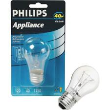 Philips 40W Clear Medium A15 Incandescent Appliance Light Bulb 299990  - 1 Each