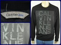 Calvin Klein Jeans Retro Spellout Block Print Sweatshirt Crewneck Sz Medium