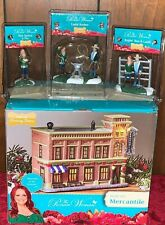 New 4 Lot PIONEER WOMAN CHRISTMAS VILLAGE MERCANTILE ROPIN' REE LADD RODEO PIE