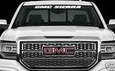 "GMC SIERRA ""NEW"" WINDSHIELD BANNER 36""X3"" SUV TRUCK STICKER DECAL DENALI"