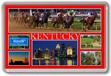 FRIDGE MAGNET - KENTUCKY - Large - USA America State TOURIST