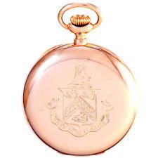 VACHERON CONSTANTIN GOLD POCKET WATCH CA1900S   18 SIZE 14K ROSE GOLD CASE, 17 J