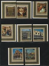 1971 Burundi Scott #B55a & #CB25a - Imperf Singles from Souvenir Sheets - MNH