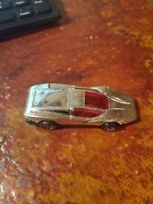 VINTAGE CHROME SILVER BULLET 1974 HOT WHEELS Used. NICE!!!