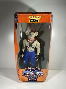 "RARE VGC MEGA MICE 12"" VINNIE GALOOB BIKER MICE FROM MARS ACTION FIGURE VINTAGE"