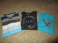AMERICAN EAGLE ~SHIRT LOT~ 3 Men's Casual T Shirts Vintage & Athletic Fit Small