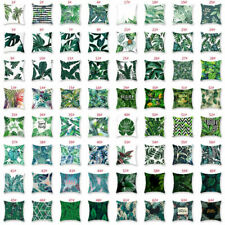 """18""""*18"""" Pillow Case Garden Covers Decoration Home Leaf Outdoor Floral  Cushion"""