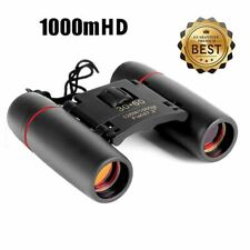 30x60 Folding Binoculars with Low Light Vision