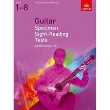 ABRSM Guitar Specimen Sight Reading Tests, Grade 1-8 - Same Day P+P