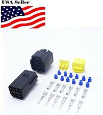 AMP Connector Plugs Kits Male Female Auto Connector 6 Pins Way Car Part