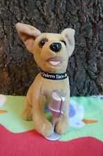 """Adorable Vintage 6"""" Taco Bell Chihuahua with Mike-Song is """"Chances Are"""""""