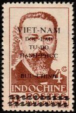 ✔️ VIETNAM HO CHI MINH 1945 - DOUMER OVERPRINT - MI. 4 SC 1L19 (*) MNGAI [VN004]