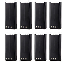 8x Li-ion 2.0Ah KNB-45 Battery for KENWOOD TK2202 TK2206 TK2207 TK3200 TK3202