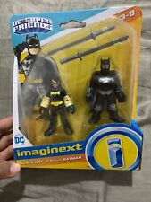 Fisher-Price Imaginext DC Super Friends, Black Bat & Ninja Batman