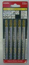 Metabo 5x Stichsägeblätter,H+M,pionier,106 mm/progr. (623677000)
