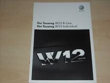47651) VW Touareg W12 R-Line + Individual Prospekt 05/2008