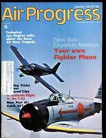 Air Progress Magazine January 1976 Grumman American EX w/ML 120316jhe