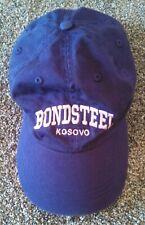 Bondsteel Kosovo Purple with Pink Letters Ball Cap Hat Adjustable