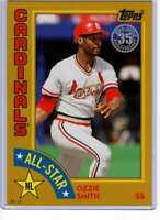 Ozzie Smith 2019 Topps 1984 Topps All-Stars Oversize 5x7 Gold #84AS-OS /10 Cardi