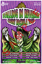 FALLING IN REVERSE 12x18 COUNT ROCKULA TOUR CONCERT POSTER BAND RONNIE RADKE 4
