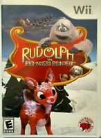 Wii Video Game RUDOLPH THE RED NOSED REINDEER
