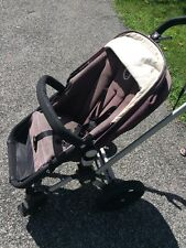 Bugaboo Frog Black Single Stroller With Bassinet & Rain Cover & Pump for tires