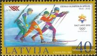 Lettland 565A (kompl.Ausg.) postfrisch 2002 Olympia