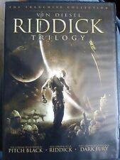 Riddick Trilogy (Pitch Black / The Chronicles of Riddick: Dark Fury / The Chron