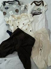 Lot of 5 Carter's Just One You Mix and Match Newborn Pants and Tops