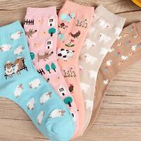 Cute Cartoon Animal Women Girl Spring Autumn Winter Warm Socks Cotton Socks