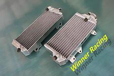 BRACED aluminum alloy radiator Kawasaki KX450F KXF450 KX 450 F 2010 2011