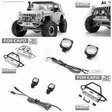 Metal TUBE front bumper for Capo JKMAX upgrade rc car part
