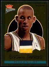 2003-04 Reggie Miller Fleer Platinum Portraits Jersey Patch 3/100 Pacers