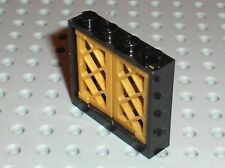 Fenetre LEGO window 60594 + PearlLtGold panes 60607/Set 6243 Brickbeard's bounty