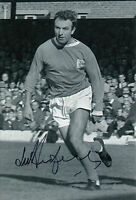 Jimmy Armfield Blackpool Hand Signed 12x8 Photo.