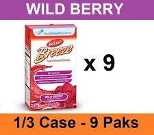Nestle BOOST Breeze Nutritional Supplement Wild Berry 8oz Drink - 9 Tetra Briks