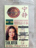 Serenity/Firefly ID Badge- PASSENGER RIVER TAM