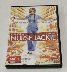 Nurse Jackie Season 4 DVD 2 Disc Set Season Four