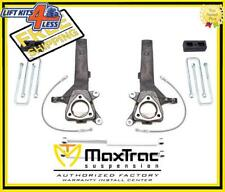 "MaxTrac Suspension KS885342  4""/2"" Lift Kit W/ Shocks For 04-14 Nissan Titan 2WD"