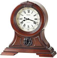 "Bulova ""The Marlborough"" Mantel Clock - with 3 Harmonic Chimes"