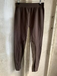 Jolinesse Size 14/16 Womens Leggings Stretch - Brown