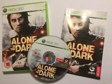XBOX 360 GAME ALONE IN THE DARK +BOX & INSTRUCTIONS COMPLETE PAL GWO DISC IS VGC