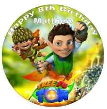 """Tree Fu Tom Personalised Cake Topper Edible Wafer Paper 7.5"""""""