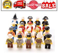 20 NEW LEGO MINIFIG PEOPLE LOT random grab bag of minifigure guys city town set