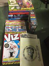 VIZ COMIC ANNUALS AND Magazine and PAL DVD zone 2/4
