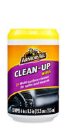 ArmorAll Clean-Up Multi-Surface Car Interior Cleaner for Spills & Messes 15 Wipe