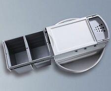 Hailo Rondo Küchen Abfalleimer 2x18l Mülleimer Eckschrank Abfallsammler *47314