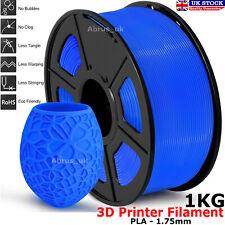 Azul 3D Impresora Filamento Pla 1.75mm diámetro 1KG Carrete PETG/Pla/Pla + Reino Unido