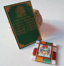 Green Tara Door Protection Tibetan Amulet